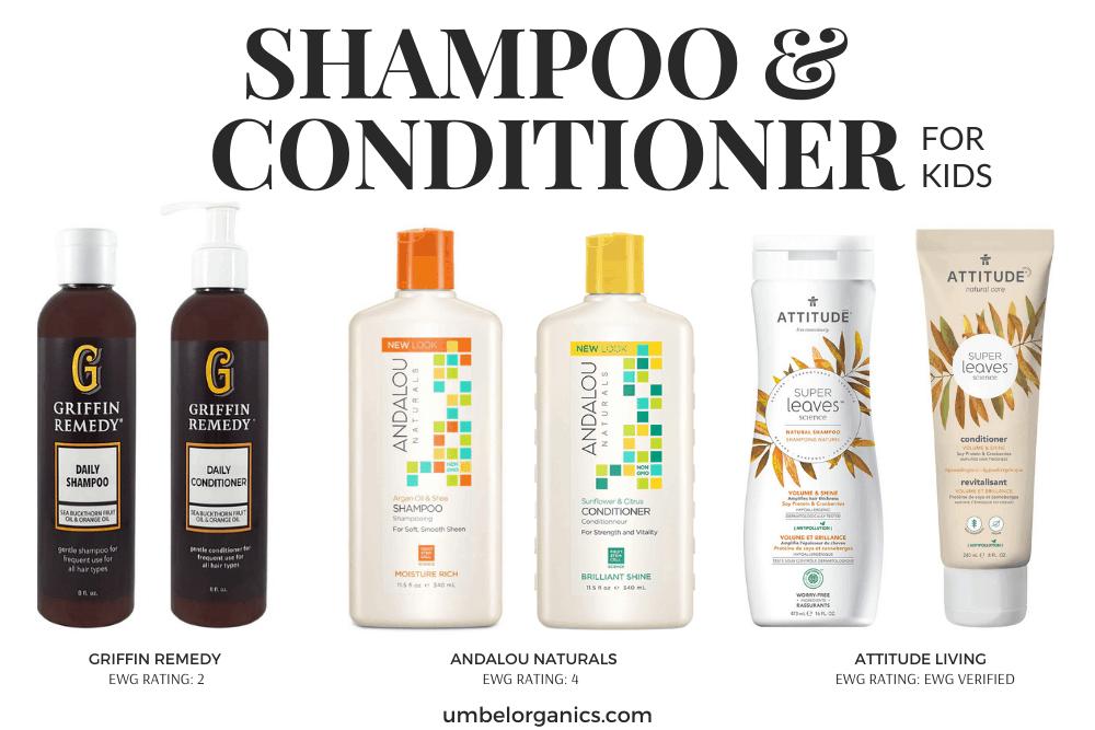 Non-Toxic Shampoo & Conditioner For Kids