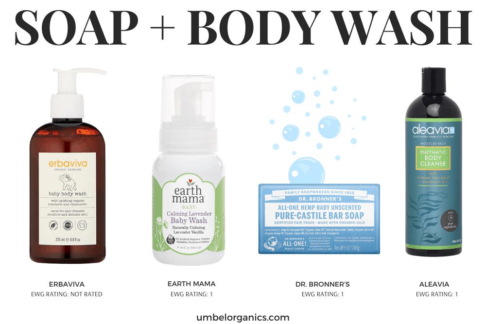 Non-Toxic Soap & Bodywash For Kids