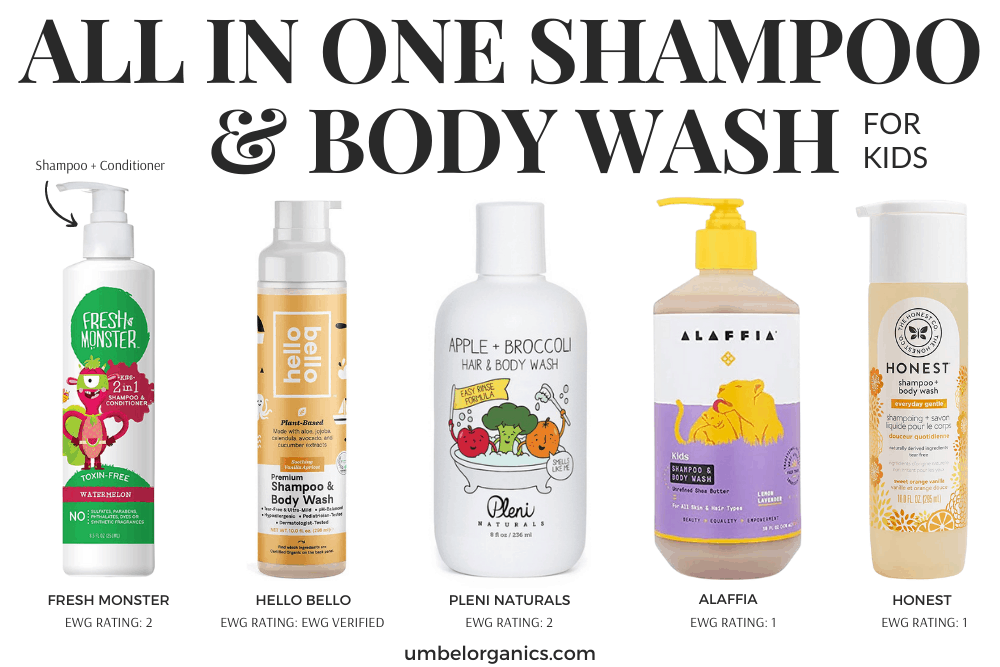 Kids Non-Toxic All-In-One Shampoo & Bodywash