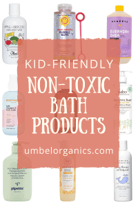 9 brands of non-toxic bath products for kids