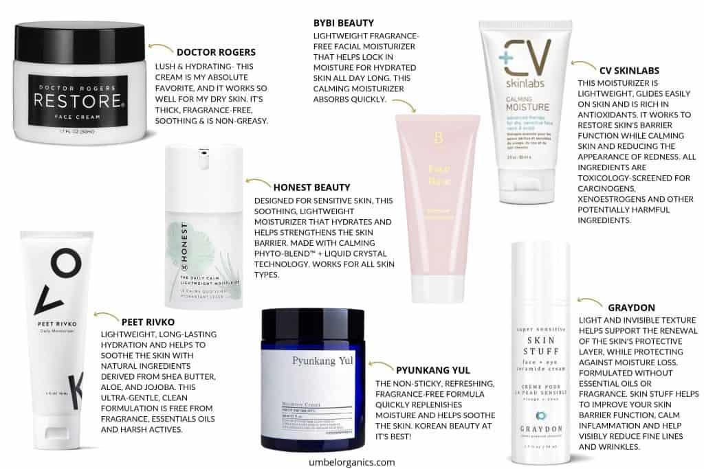 Top 7 Clean Face Cream Brands For Sensitive Skin