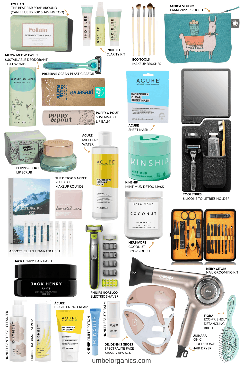 Clean Beauty Skincare Gifts For Teen, Tween & Young Adults